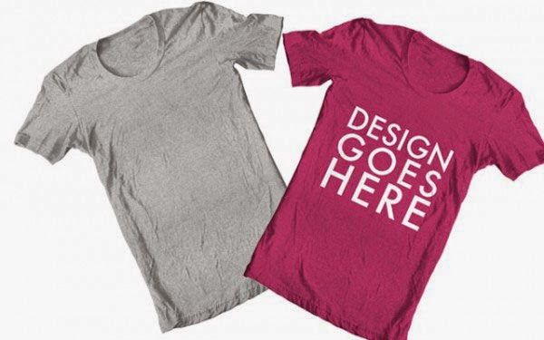 PSD T-Shirt Mock-ups Template