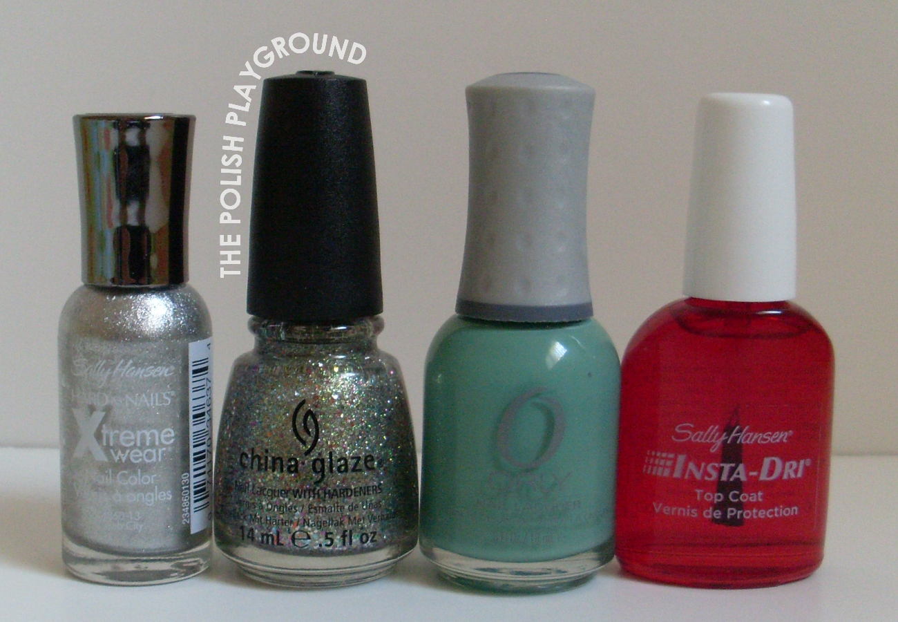 Sally Hansen, China Glaze, Orly