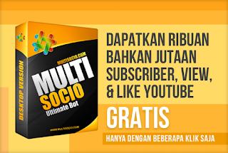 dapatkan ribuan bahkan jutaan subscriber, view, like dan comment pada channel youtube secara gratis