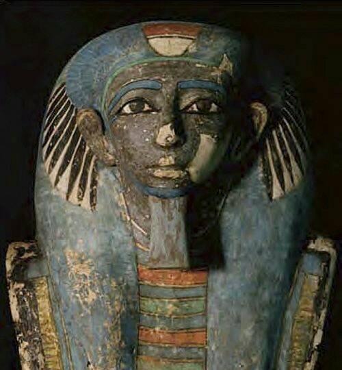 Blue Mummy Mask
