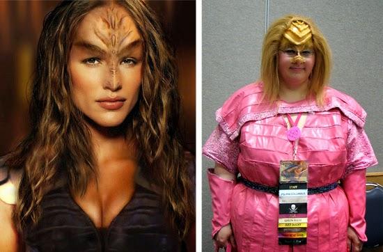 Cosplay Fail- Klingon