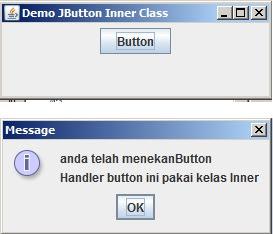 Coding Membuat Button Dengan Menggunakan Kelas Inner Pada Java - www.helloflen.com