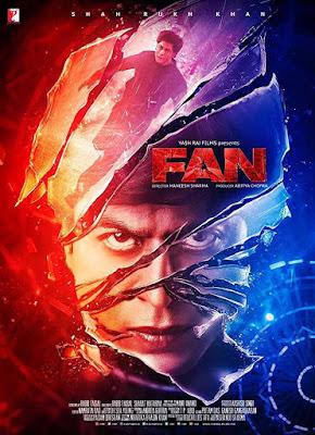 Poster Fan 2016 Hindi HD 720p