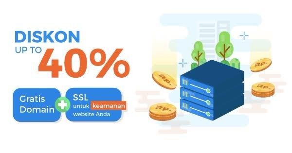 Gratis Domain dan SLL Selamanya