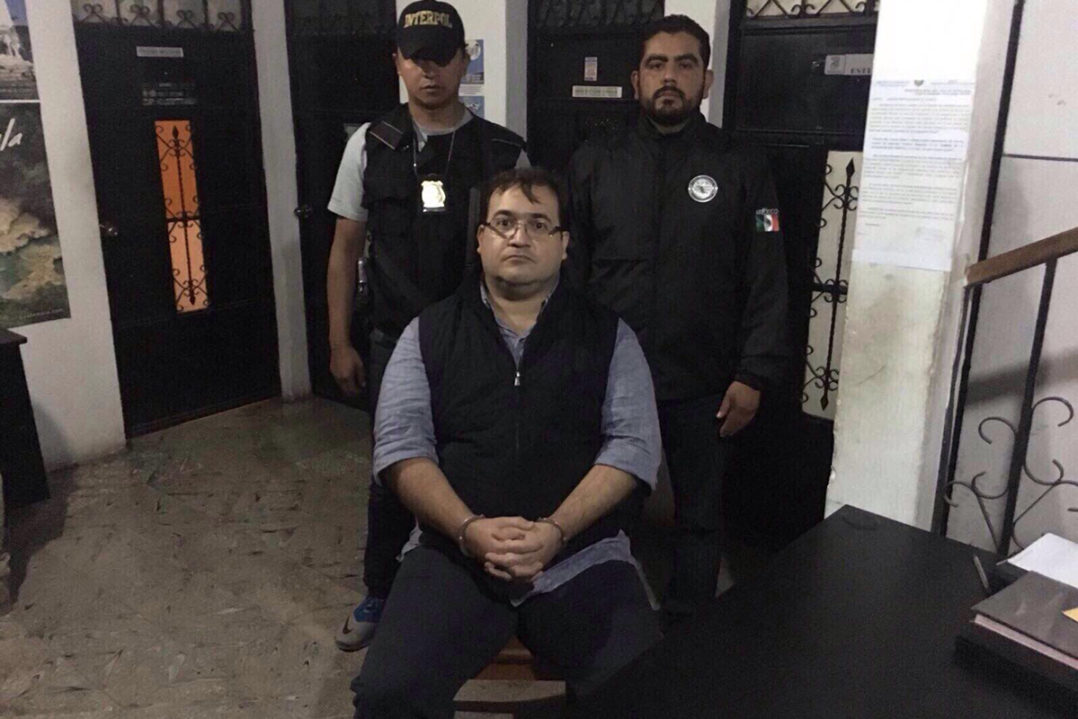 Fotogalería: Así se ve Duarte tras su detención