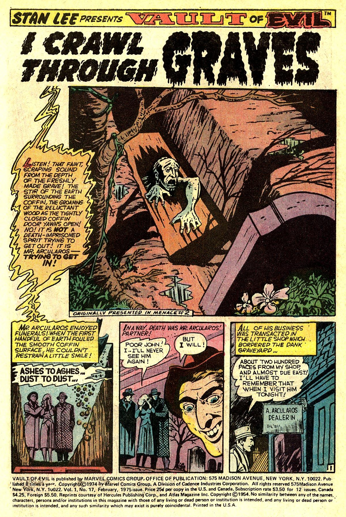 Read online Adventures into Weird Worlds comic -  Issue #5 - 21