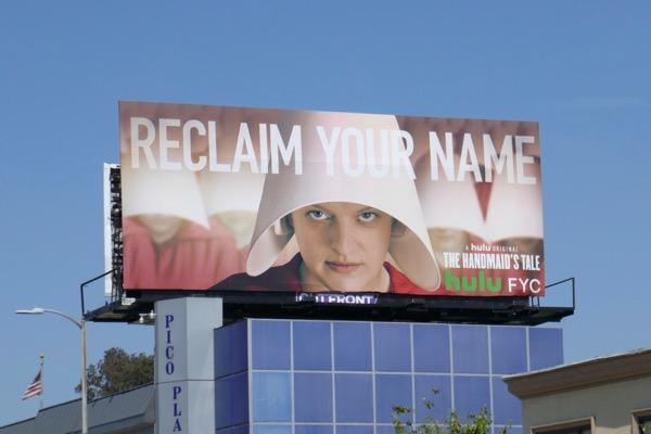 Handmaids Tale season 2 Emmy FYC billboard