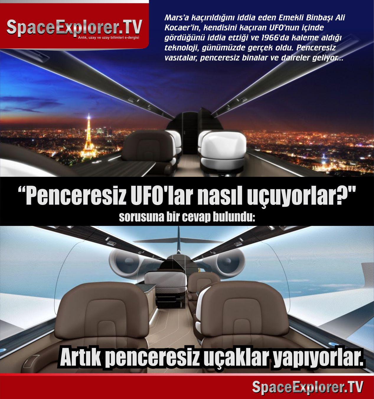 UFO, Ali Kocaer, Merih'e nasıl kaçırıldım, Uçan Küre, Mars, Merih, Müslüman uzaylılar, UFO'lar gerçek mi?, Gizlenen gerçekler, Uzayda hayat var mı?, Videolar,