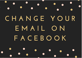 Change your email on Facebook
