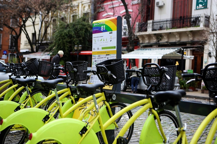 Ecobici, estaciones de bicicletas gratuitas en Buenos Aires