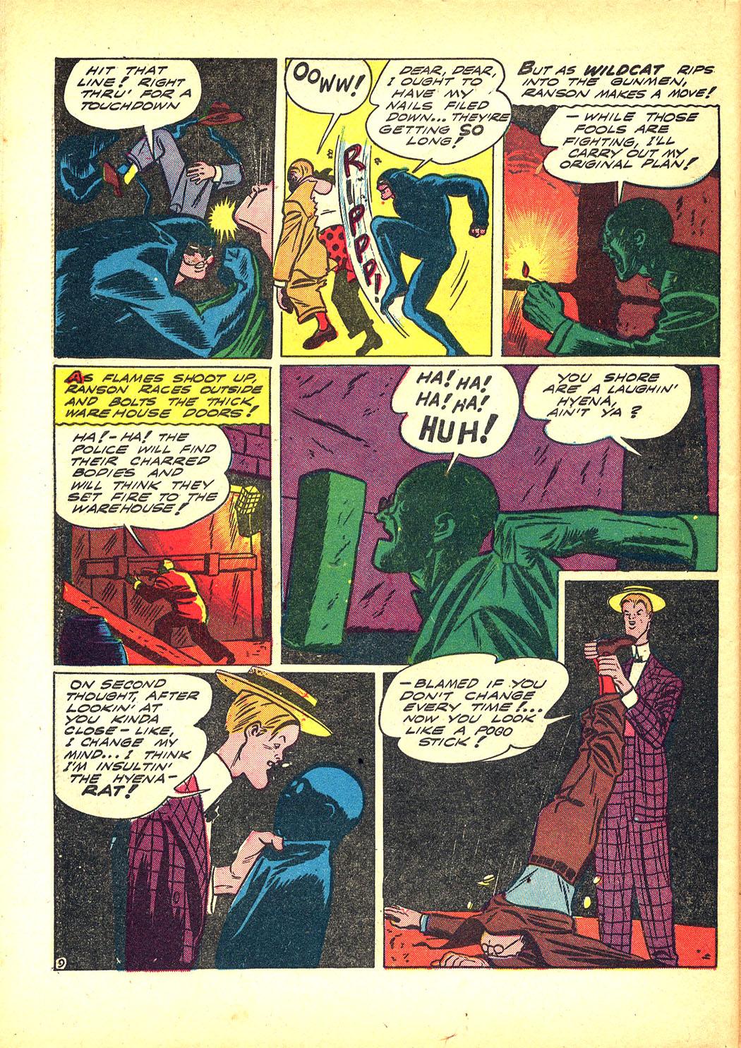 Read online Sensation (Mystery) Comics comic -  Issue #8 - 64