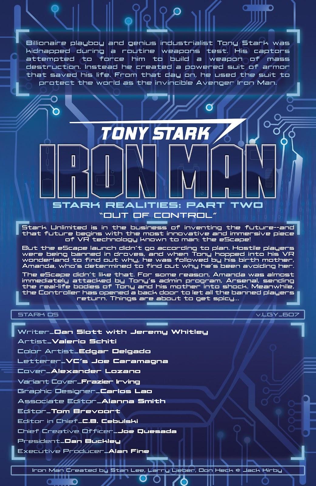Read online Tony Stark: Iron Man comic -  Issue #7 - 4