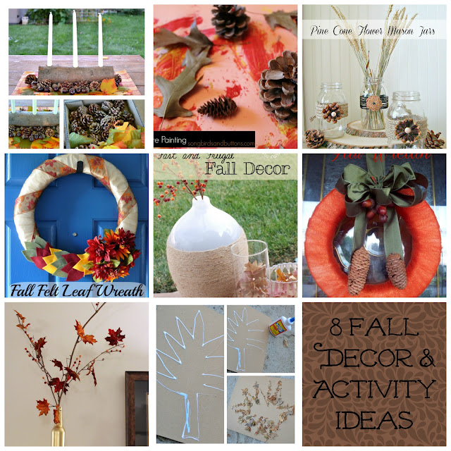 8 Fall Decor and Activity Ideas Roundup from www.summerscraps.com