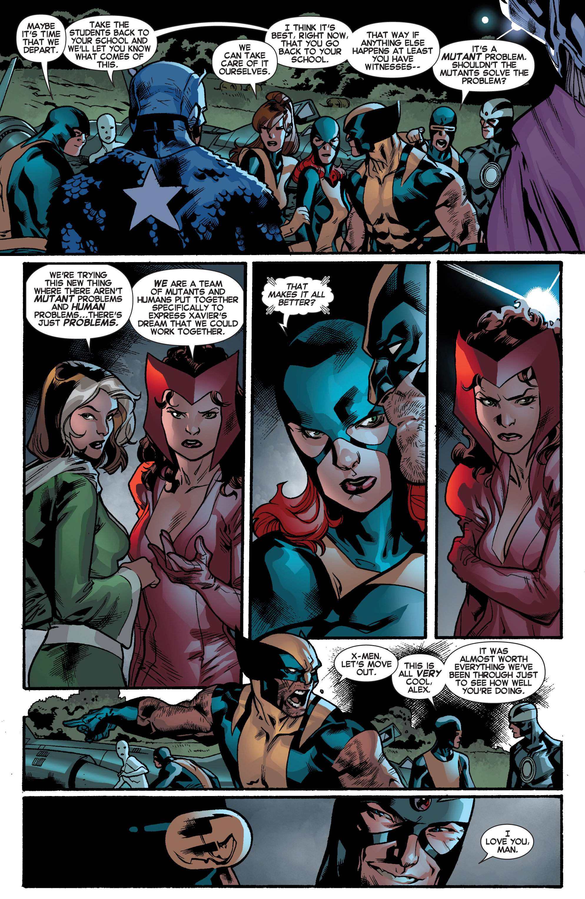 Read online All-New X-Men (2013) comic -  Issue # _Special - Out Of Their Depth - 43