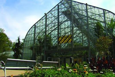 Krohn Conservatory Butterfly Exhibit Mt. Adams, Eden Park