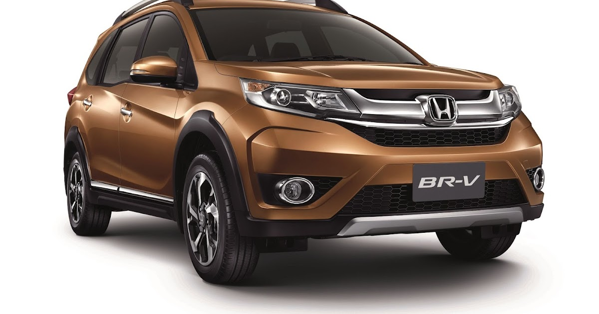 Honda unveils the all new br v a 7 seater suv at the 6th for Honda 7 passenger
