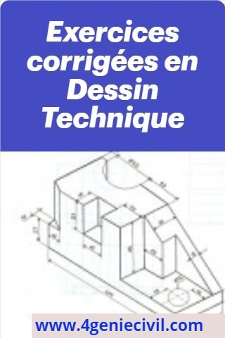 exercices corrigés dessin technique projection orthogonale pdf
