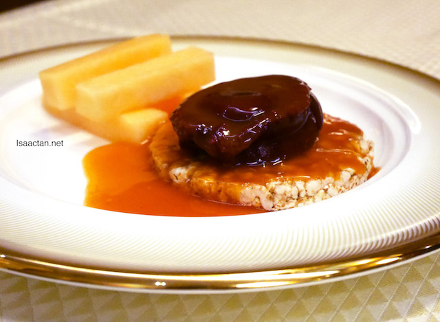 Braised 4-Head South African Abalone with Crispy Rice