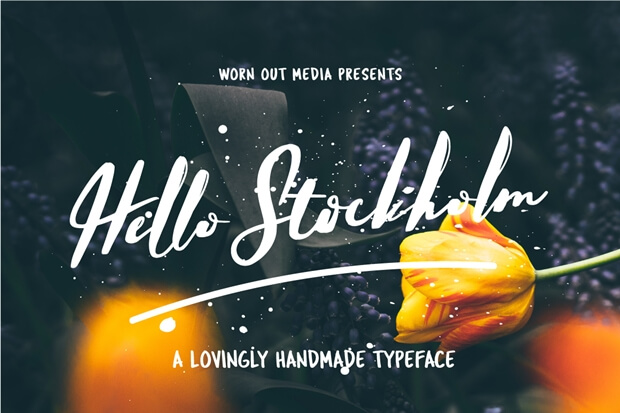 Hello Stockholm_free font