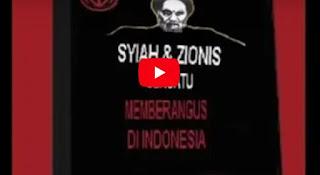 """""""BAHAYA"""" Syiah & Zionis Bersatu Memberangus Di Indonesia"""