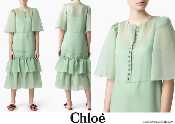 Princess Madeleine wore Chloe midi dress