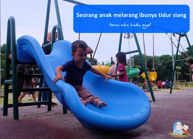 menghadapi anak balita aktif