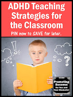 ADHD teaching strategies for kids