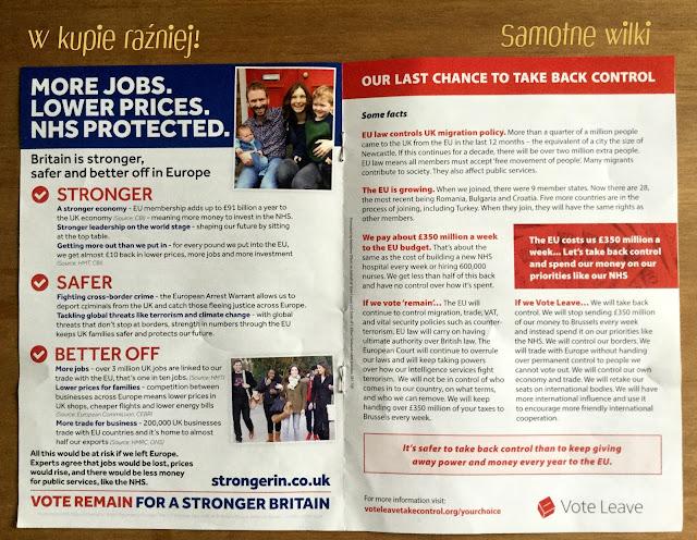 Brexit, referendum, Wielka Brytania, UK