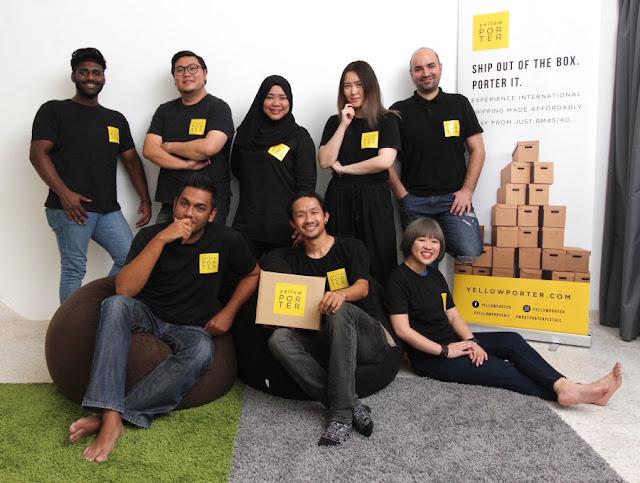 The Yellow Porter team