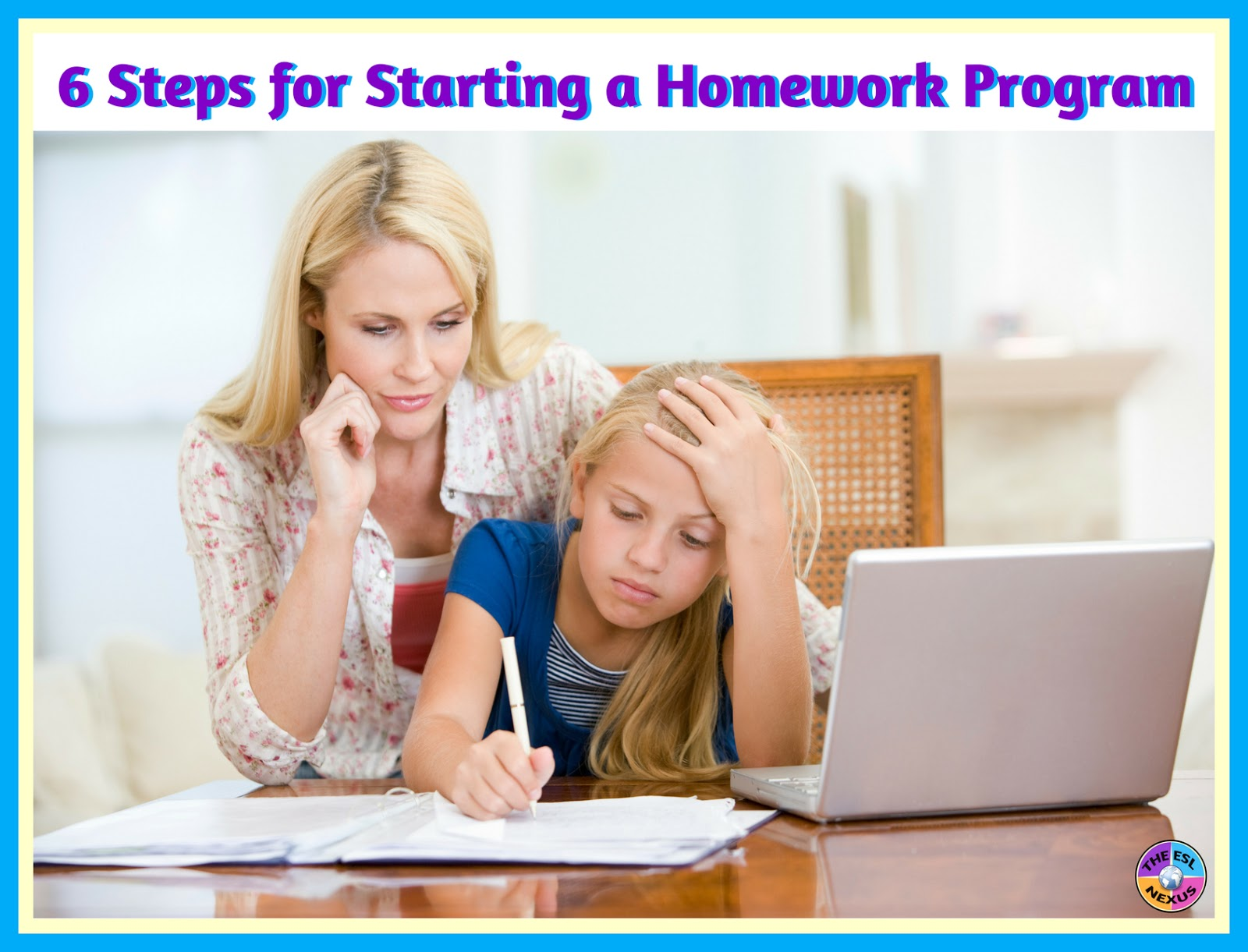 6 steps for starting a homework program.