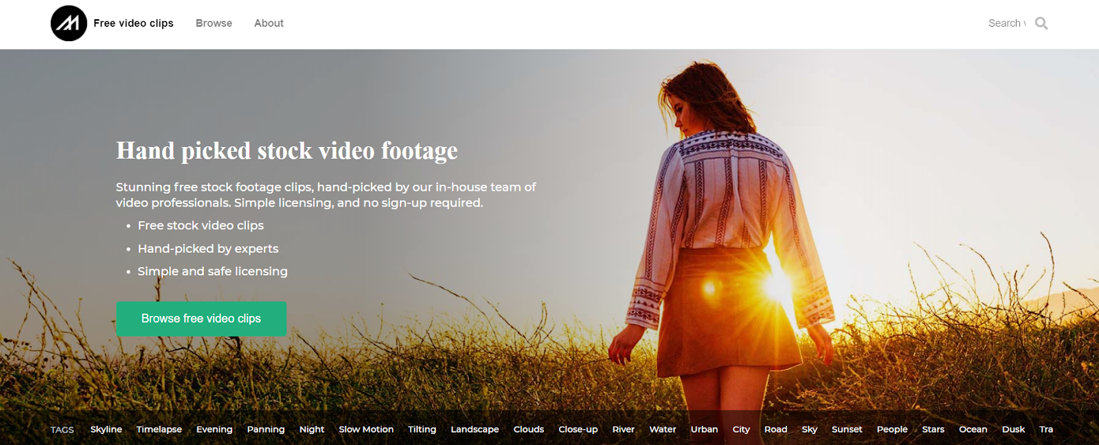 mazwai is website for free stock footage