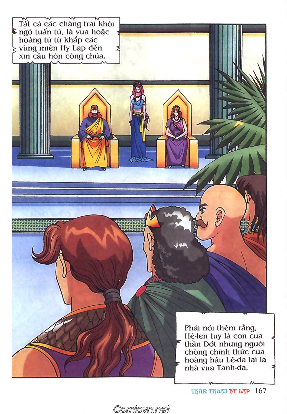 Thần Thoại Hy Lạp Màu - Chapter 51: Nàng công chúa Helen - Pic 6