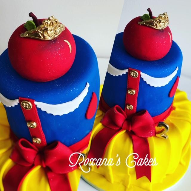 Awesome Baking With Roxanas Cakes Snow White Birthday Cake Funny Birthday Cards Online Alyptdamsfinfo