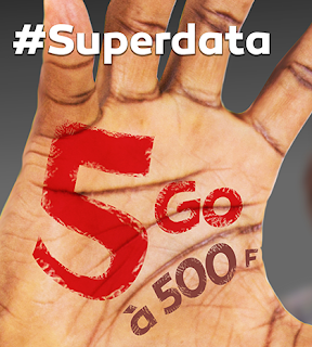 Get 5GB for 500frs on Nexttel Superdata: and 10GB for 700frs