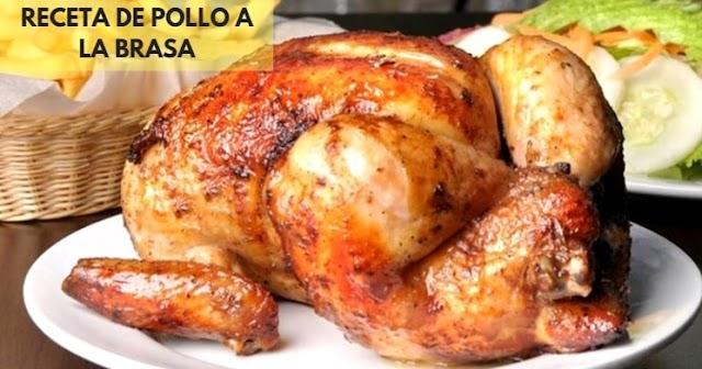 Pollo a la Brasa Receta : preparación e Ingredientes