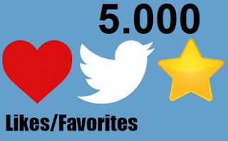 Buy 5k Twitter Likes Favorites