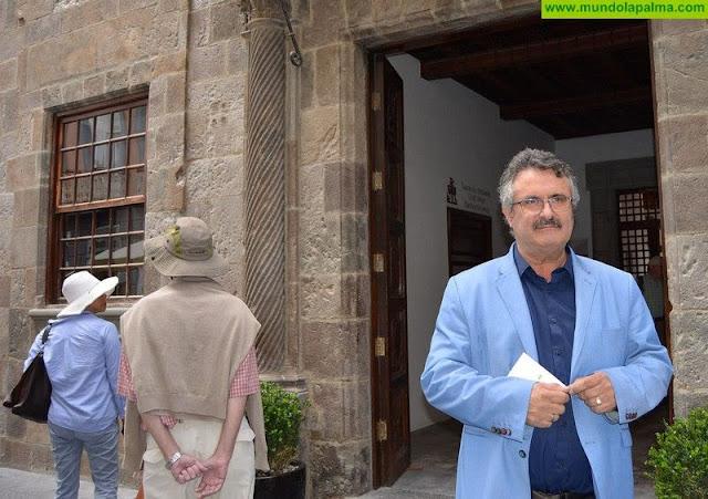 El Cabildo divulga la historia y características arquitectónicas de la Casa Principal de Salazar