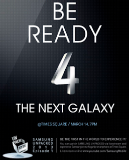 Pengumuman Ponsel Samsung Galaxy S4