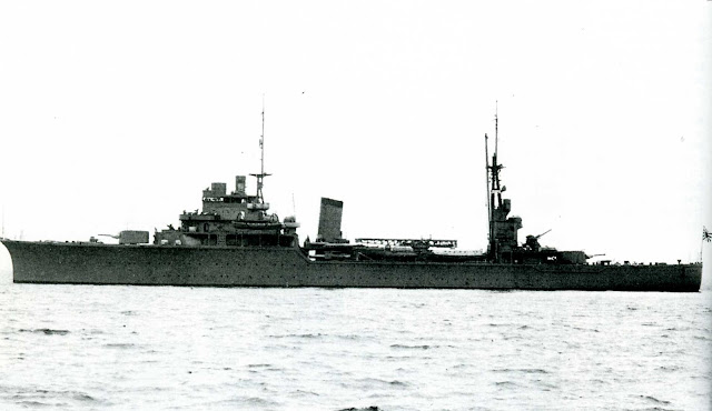 Japanese light cruiser Kashii, 15 July 1941 worldwartwo.filminspector.com