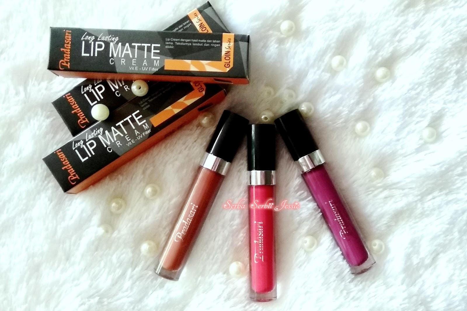 [Review and Swatch] Pradasari Long Lasting Lip Matte Cream