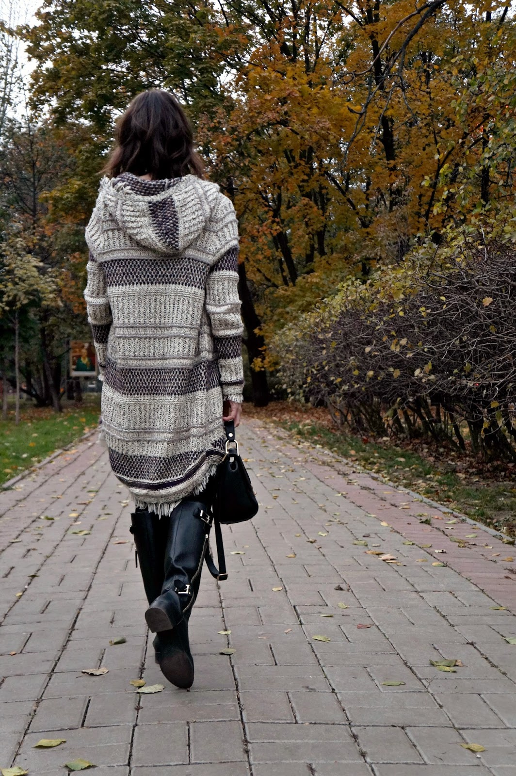 Knit Zara cardigan | Look