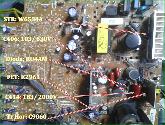 """Perbaikan Kerusakan pada TV LG 21"""" SLIM, Model: 21FU3RD-T3"""