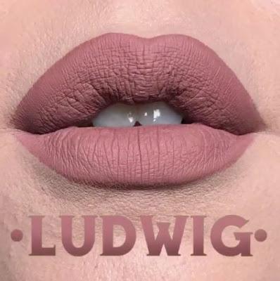 kat von d Everlasting Liquid Lipstick lip swatch ludwig