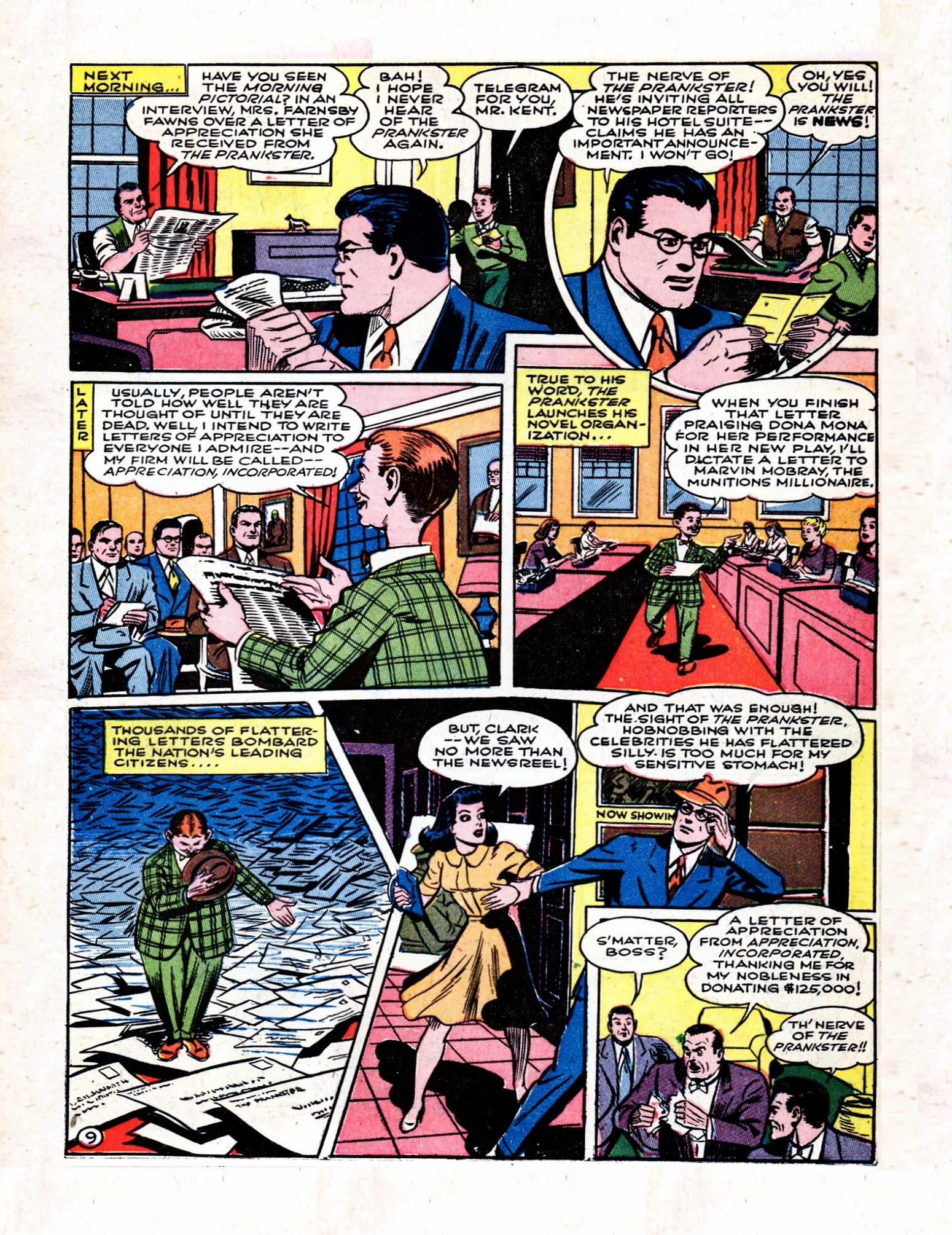 Read online Action Comics (1938) comic -  Issue #57 - 11