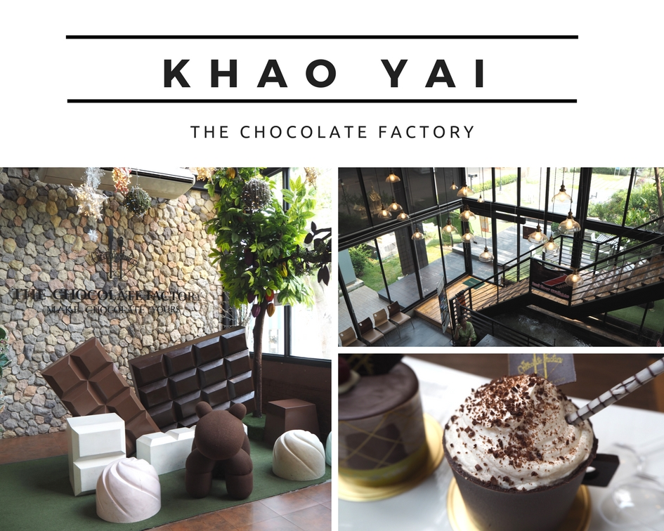 [考艾吃喝篇] The Chocolate Factory khao yai 游记