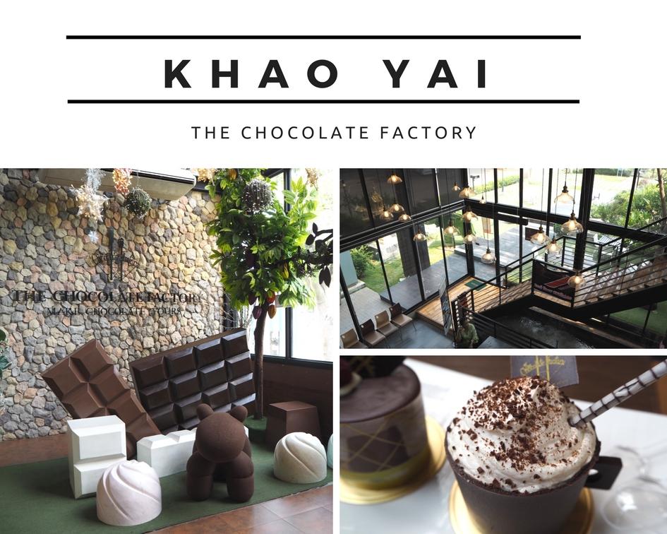 [考艾吃喝篇] The Chocolate Factory khao yai 游记