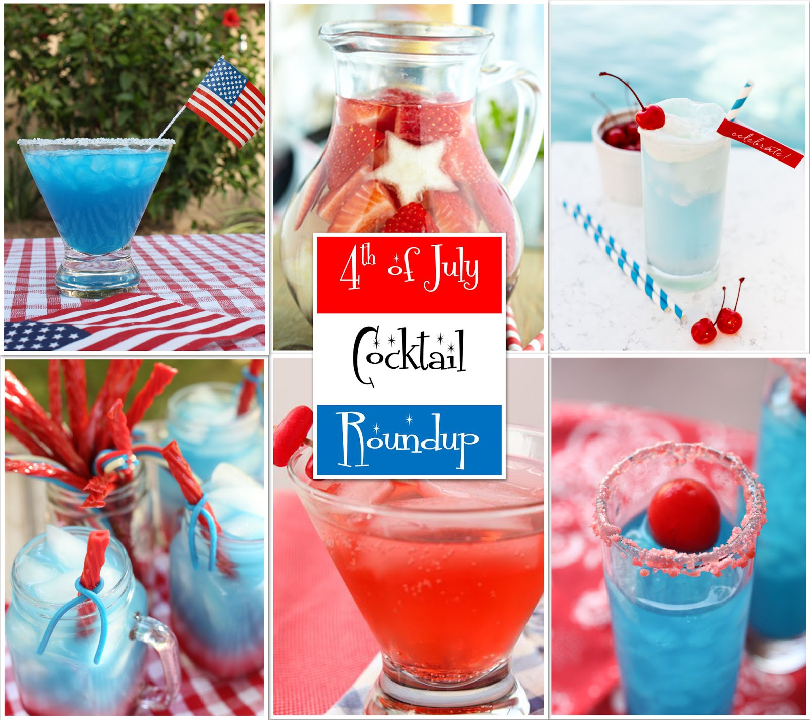 The Bubbly Hostess: 4th Of July Cocktail Roundup
