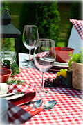 Italian Wine-Themed Tablescape