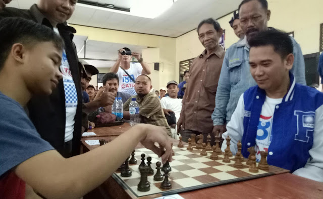 Pan subang gelar turnamen catur