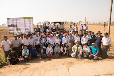 Myanmar farmers, extension agents join workshop on mechanized land leveling to boost agricultural development
